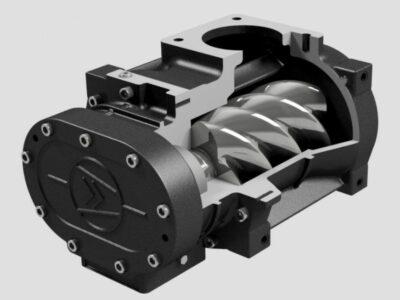 ddz_screw_compressor_front